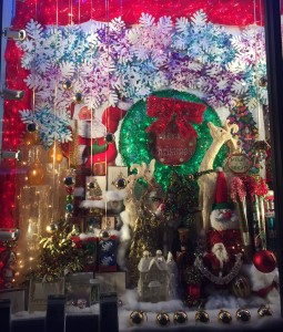 I still love holiday windows!