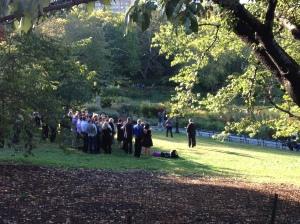 """Surprise"" wedding in Strawberry Fields"