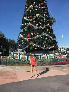 At Disney's Hollywood Studios after the race