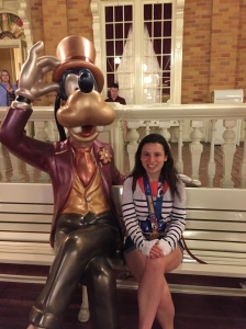 Photo ops with your shiny medal can take place after the race