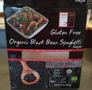 """Black bean """"spaghetti"""""""