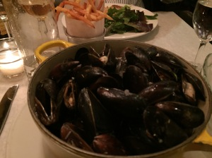 Mussels + frites