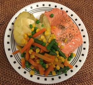 A plentiful plate