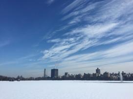 The reservoir a few weeks ago...