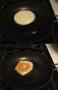 Even I can flip these pancakes...