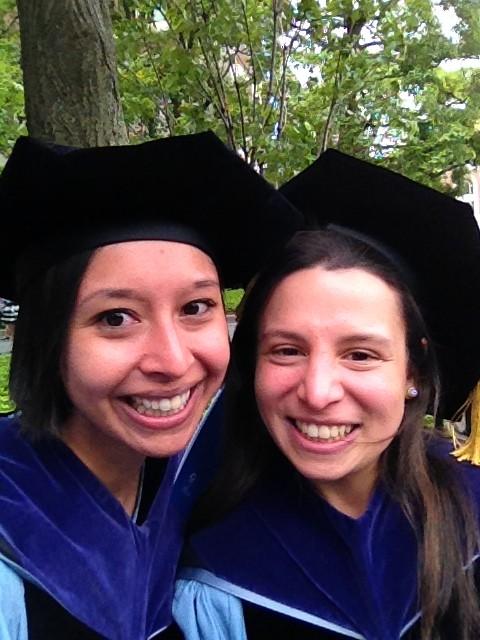 Ashley and I at graduation