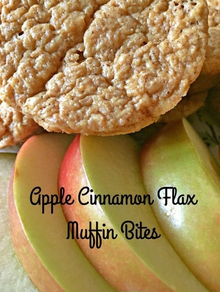 Apple Cinnamon Flax Muffin Bites
