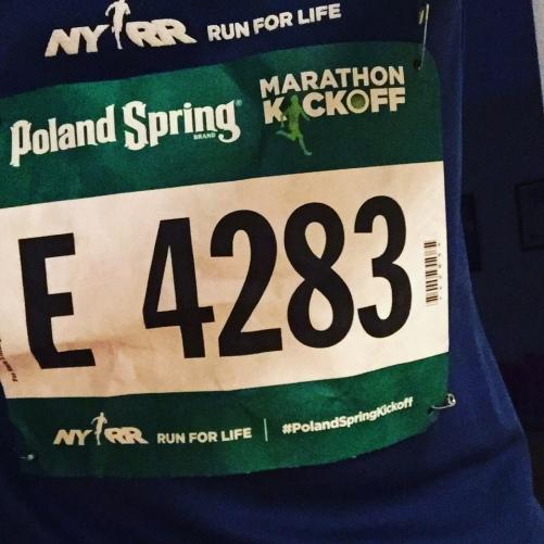 Poland Springs 5M Marathon Kickoff