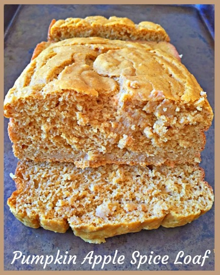 A deliciously gluten free Pumpkin Apple Spice Loaf for the autumn.