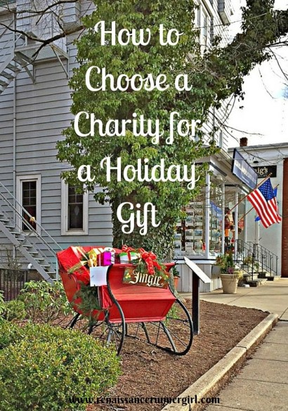 How to Choose a Charity for a Holiday Gift