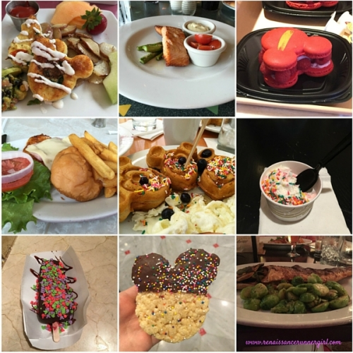 Disney Food Collage